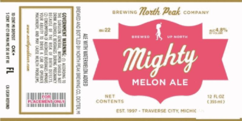 north peak mighty melon