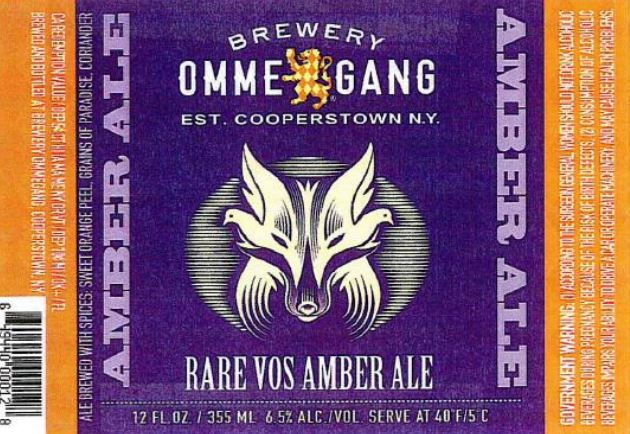 ommegang rare vos