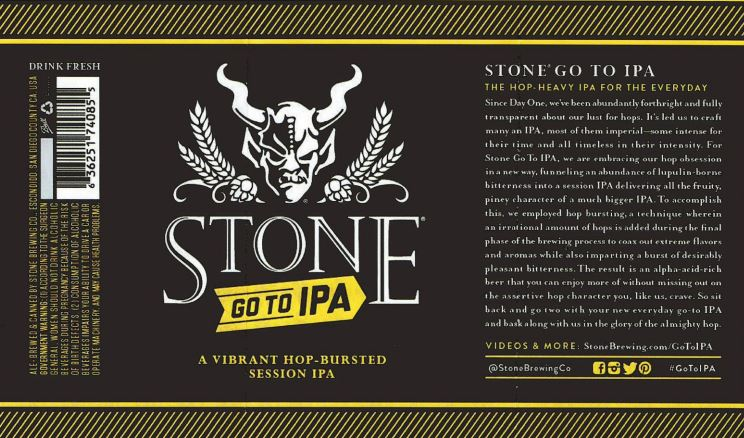 stone go to ipa TABC Label and Brewery Approvals July 1 2016