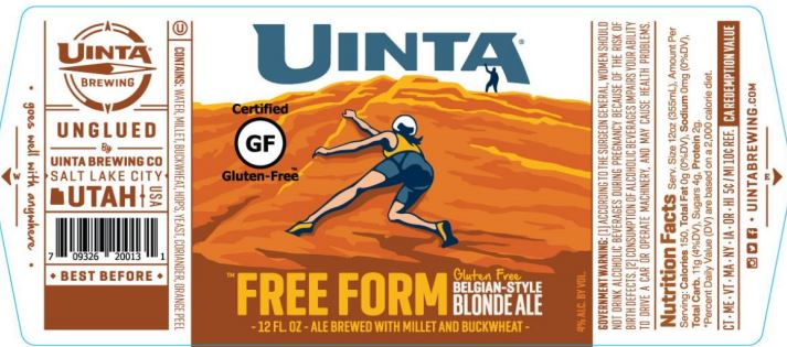 uinta free form TABC Label and Brewery Approvals July 1 2016