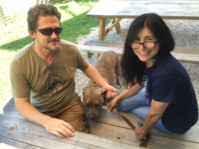 Guadalupe Brwing Owners & dog Texas Craft Brewery Profile