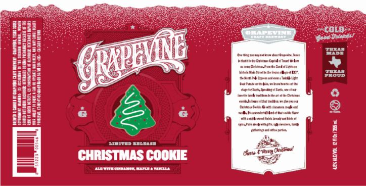 grapevine cookie cutter TABC Label and Brewery Approvals Aug 19 2016