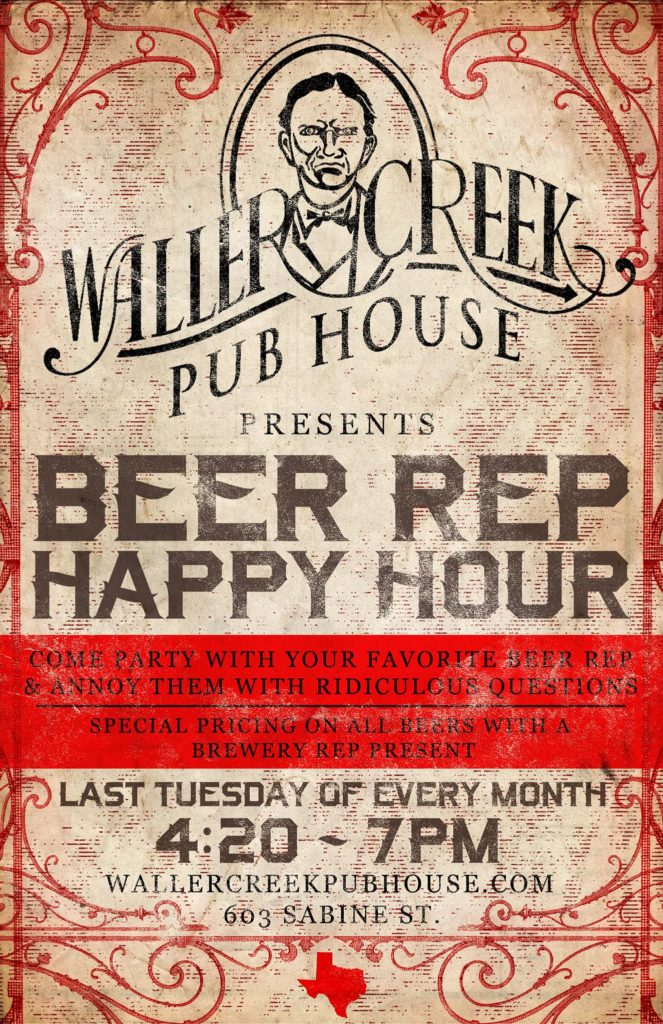beer-rep-happy-hour Austin Craft Beer Events Nov 28th to Dec 4th 2016