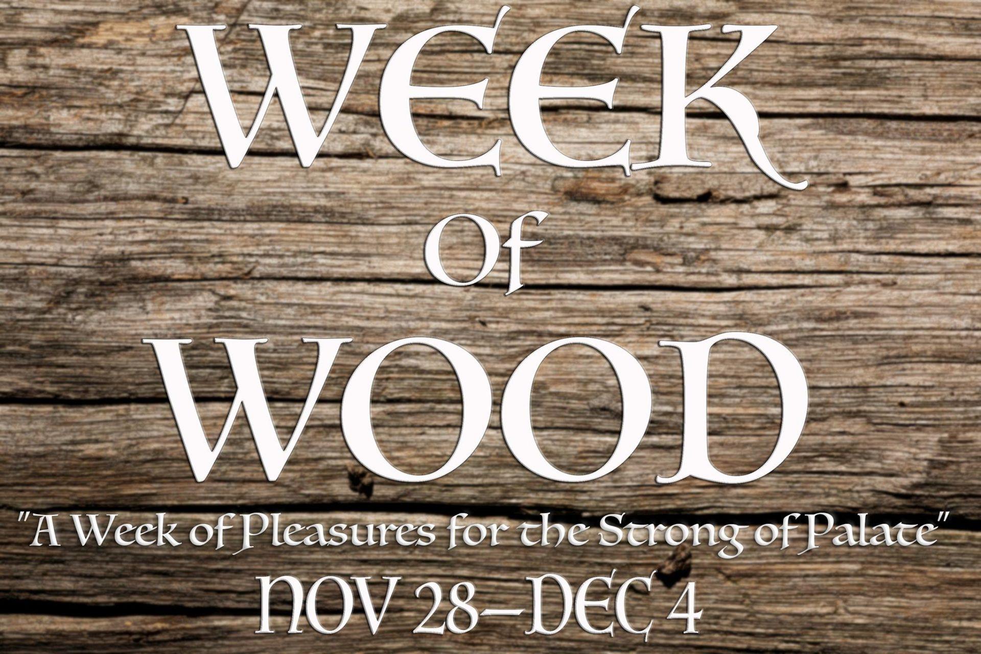 week-of-wood Austin Craft Beer Events Nov 28th to Dec 4th 2016
