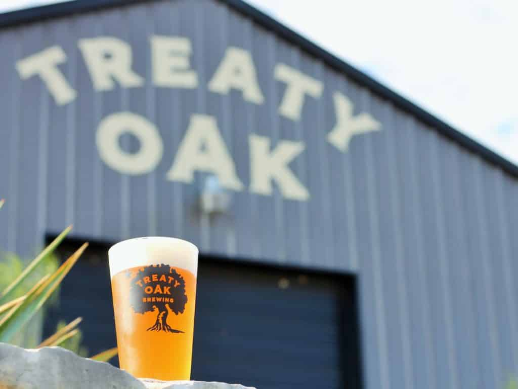 Treaty Oak Brewing Pint