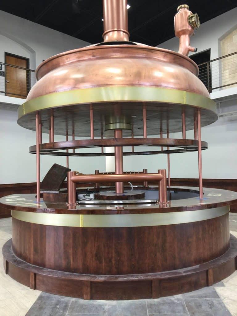 Celis Brewery Copper Kettle Tank