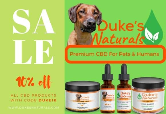 Duke's Naturals Premium CBD for Pets and Humans