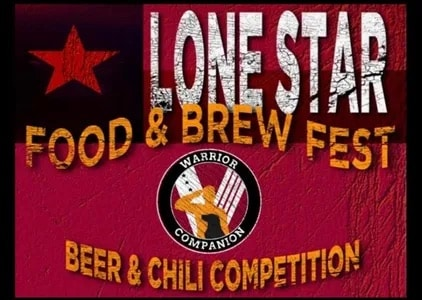 Lonestar Food and Brew Beer and Chili Compeition