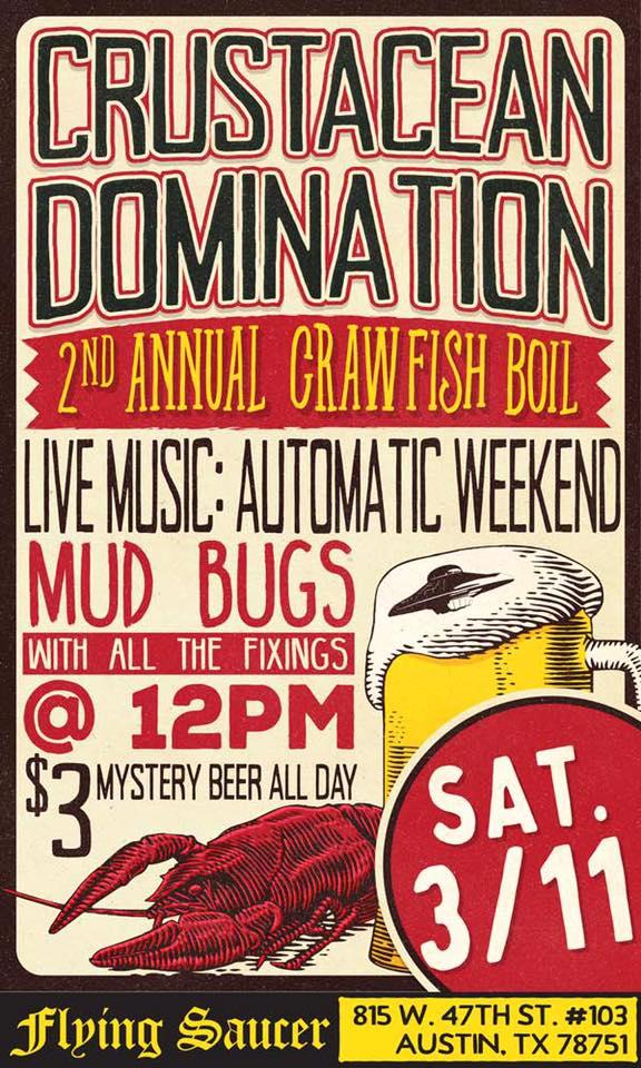 Austin Craft Beer Events Mar 6 - 12 2017