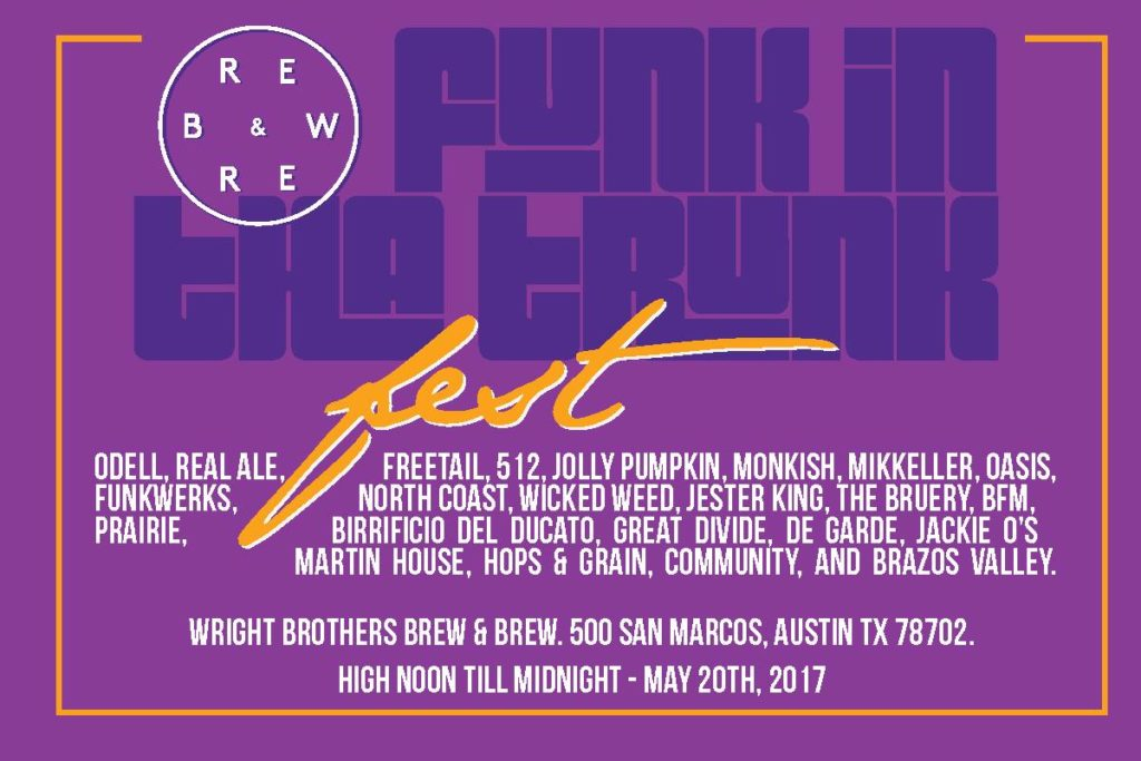 Austin Craft Beer Events May 15 - 21 2017