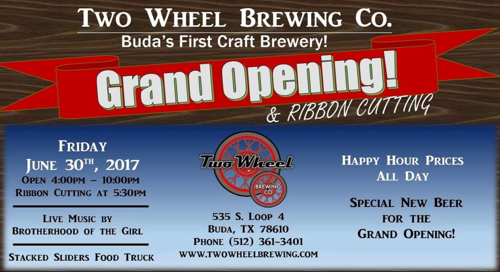 Two Wheel Brewing Co. - Texas Craft Brewery Profile