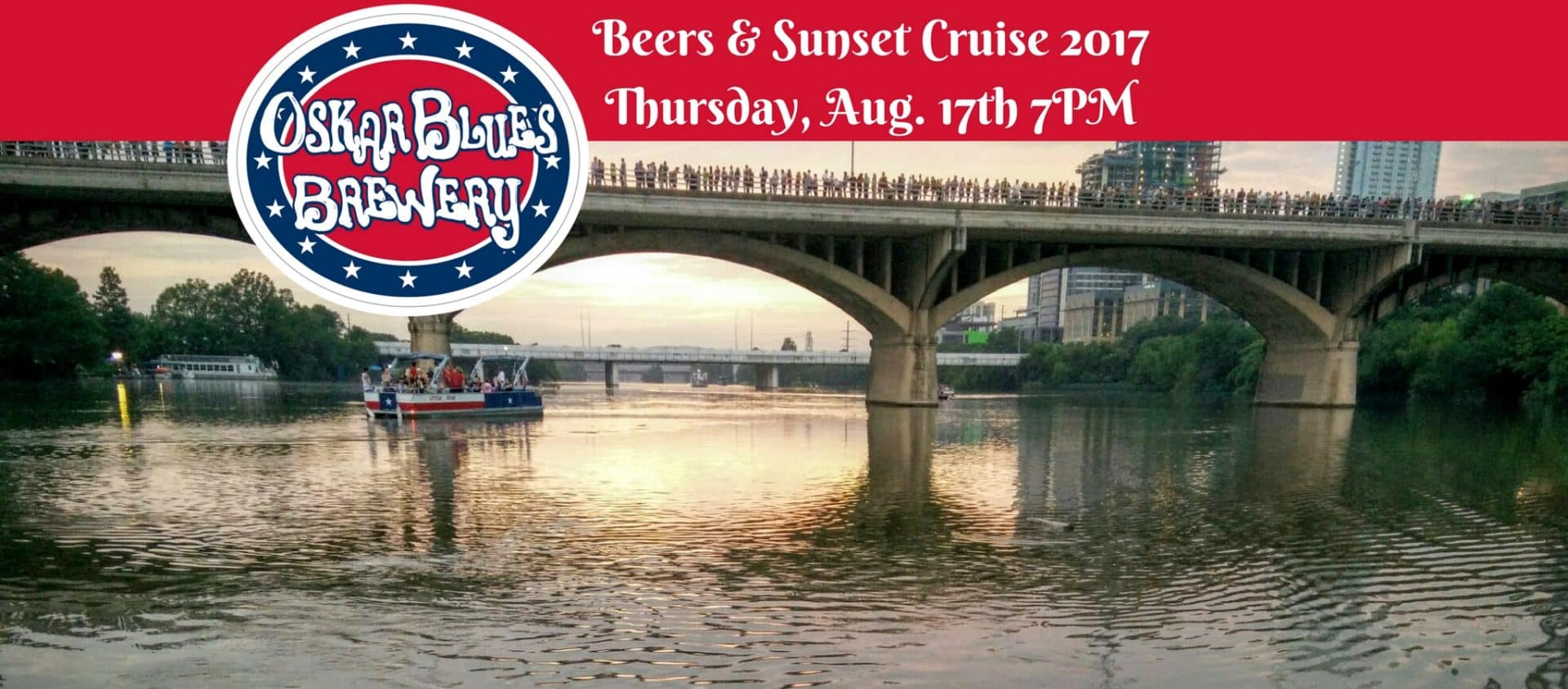 Beers & Sunset Cruise Aug 17th 7PM 2017