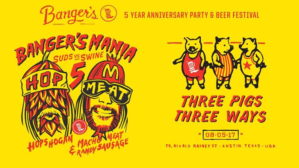 Banger's Celebrates 5th Anniversary