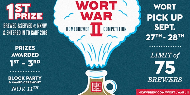 Wort War II Homebrew Competition at NXNW