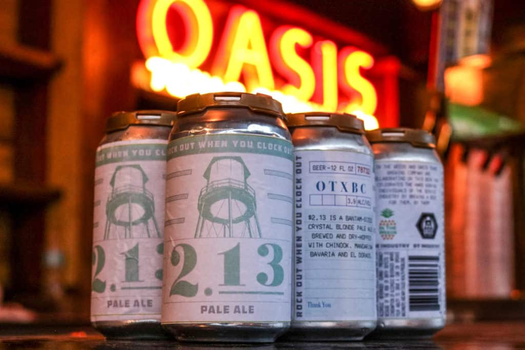 In The Weeds and Oasis Texas Brewing Release Collaboration Pale Ale