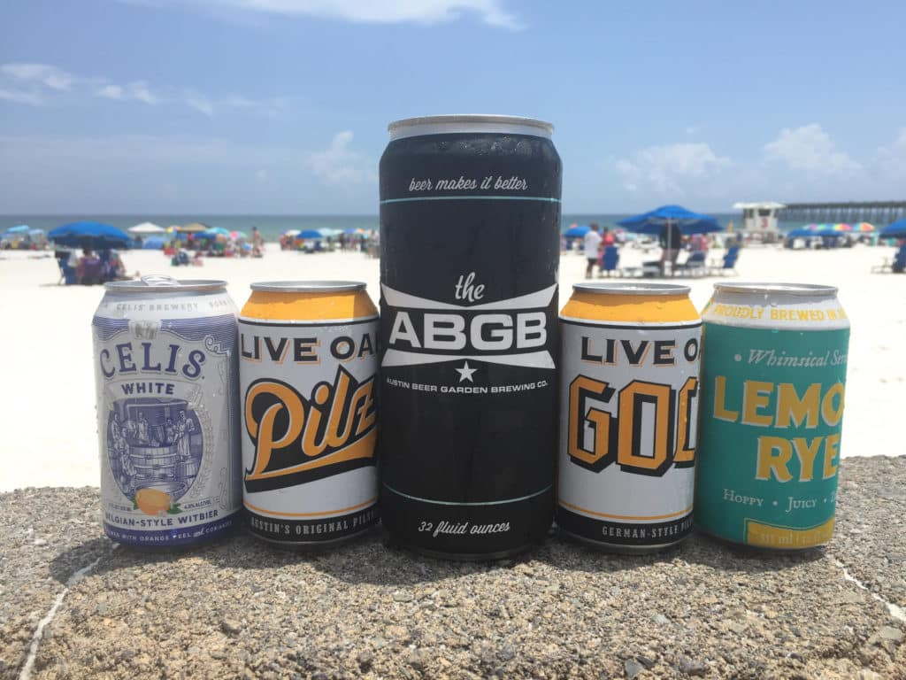 Favorite Austin Summer Beers - 2018 Can Edition