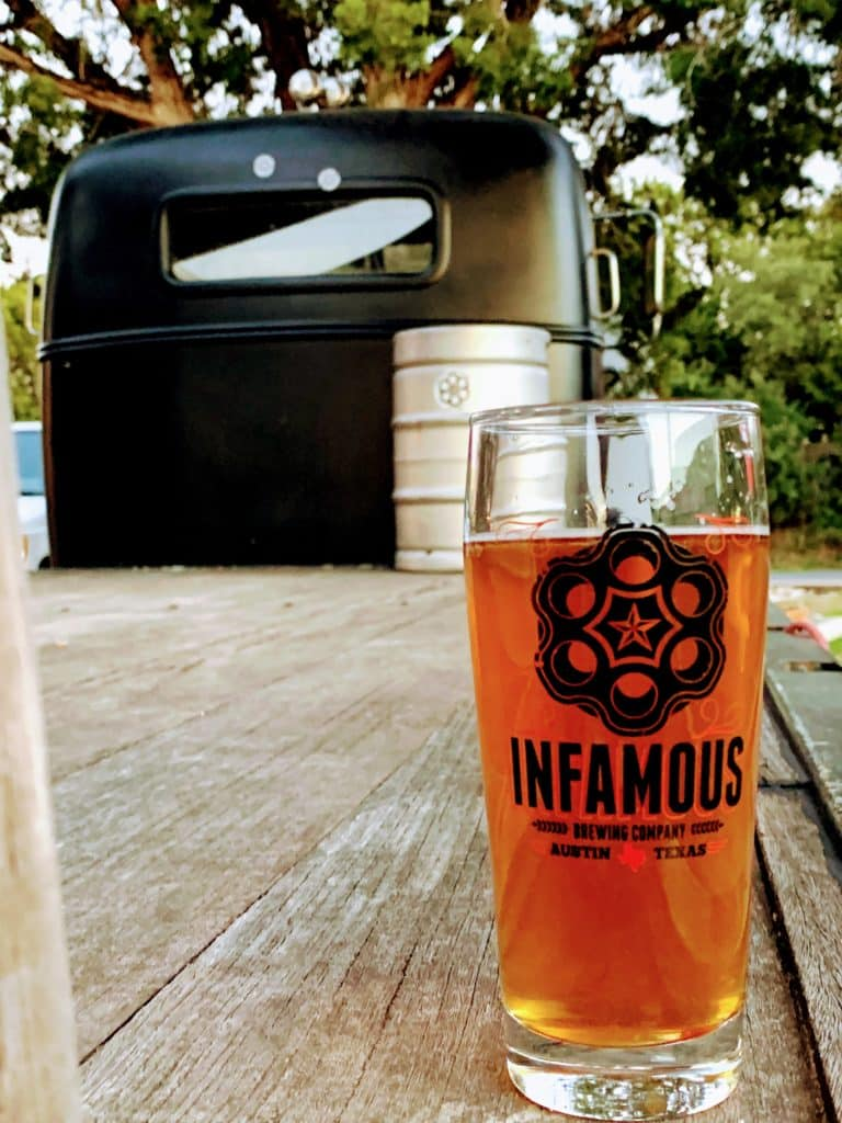 Visit Infamous Brewing in Lake Travis