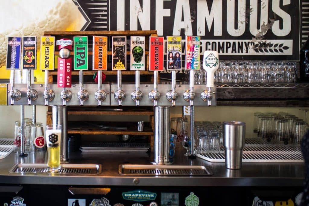 Visit Infamous Brewing in Lake Travis