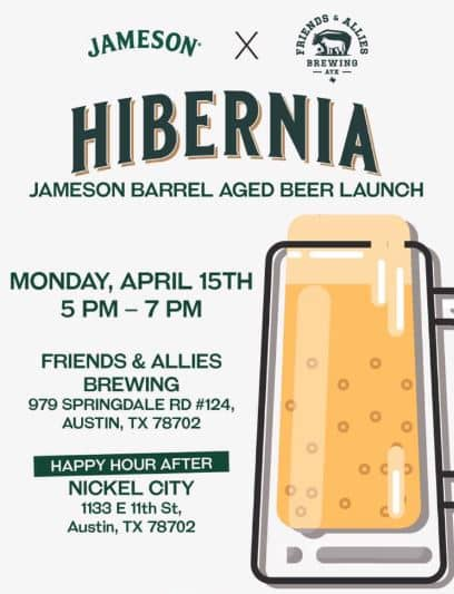 Austin Craft Beer Events April 15th-21st 2019