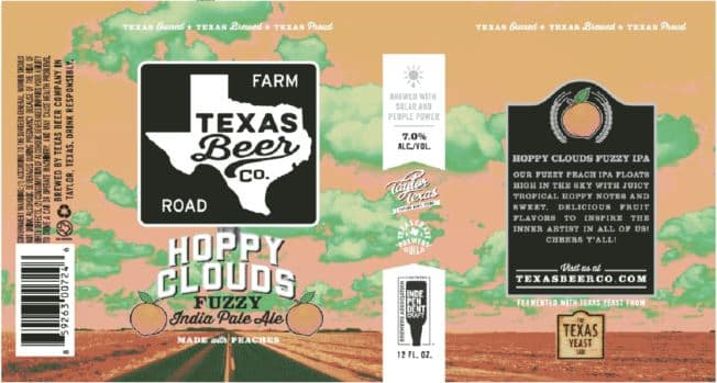 TABC Label and Brewery Approvals April 25 2019