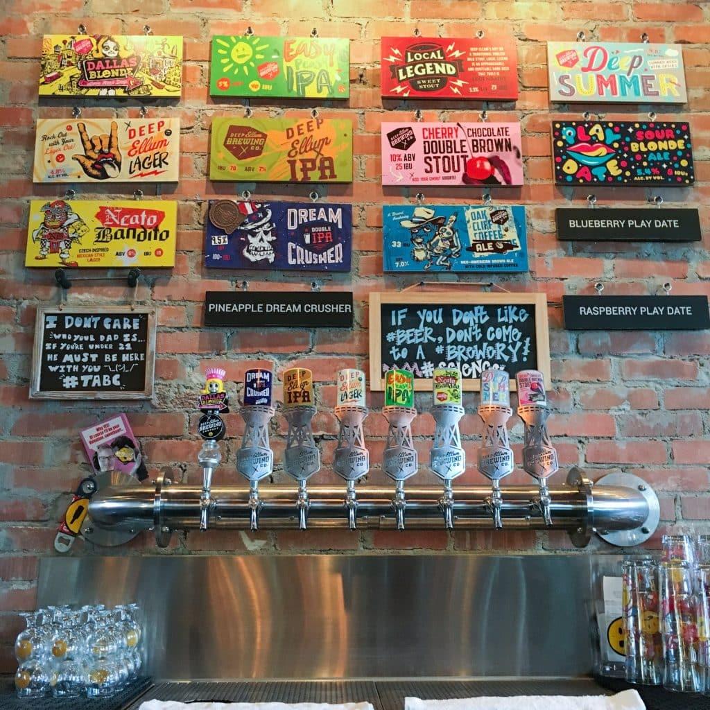 A Visit To Deep Ellum Brewing - Dallas Texas