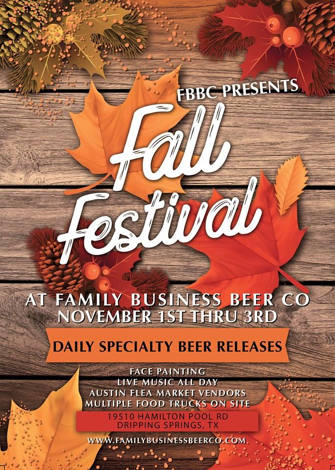 Craft Beer Austin Events: Oct. 26th, Oct. 31st - Nov. 3rd
