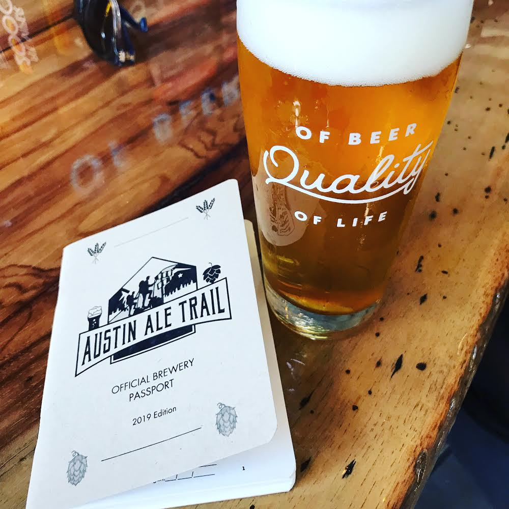 Austin Ale Trail Passports Available Now 2019