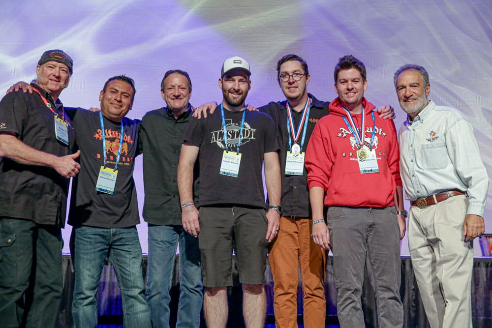 Altstadt Brewery Brings Home Double Gold from GABF 2019