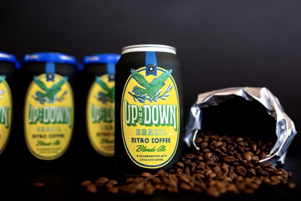 Independence Brewing Releases Up and Down: Brazil, Nitro Coffee Beer
