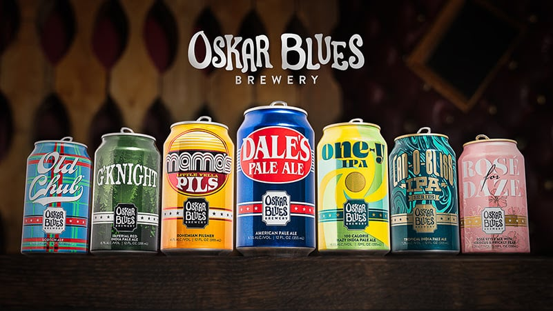 Oskar Blues Brewery, Bold New Packaging to Roll Out in 2020
