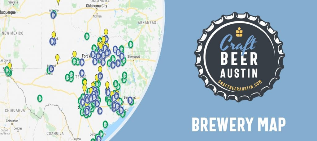 Texas Breweries Map Texas Brewery & Brewpub Tour Listings with Map |