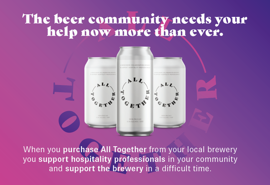 All Together Beer Supports Hospitality Industry