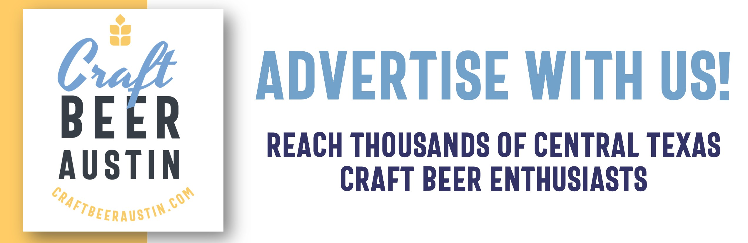 Advertise with Craft Beer Austin