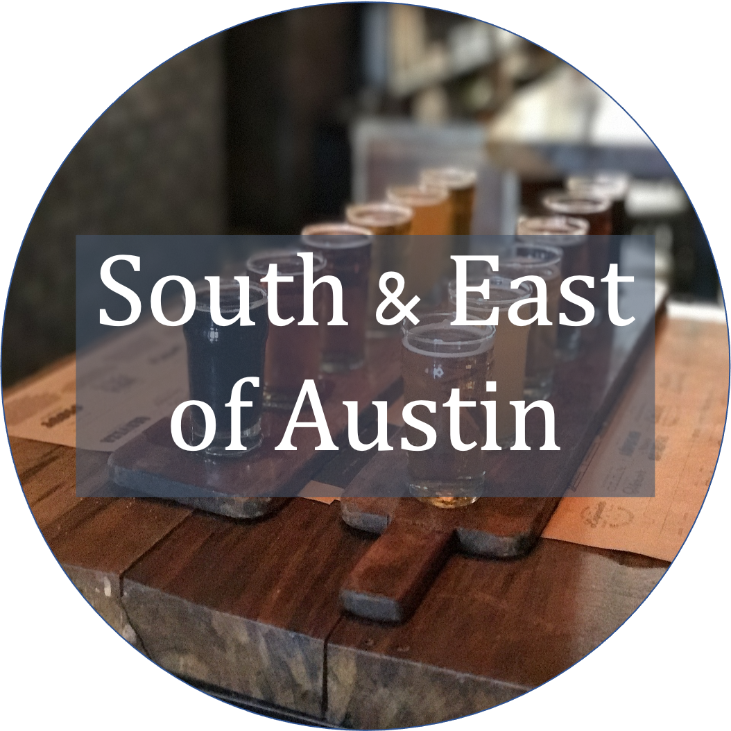 Austin Brewery Guide South and East