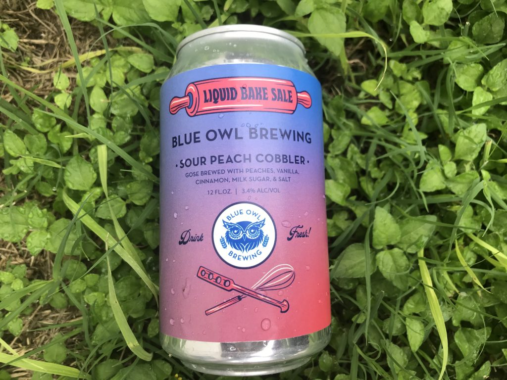 Blue Owl Brewing – Gramma Jeff's Sour Peach Cobbler Fruited Gose