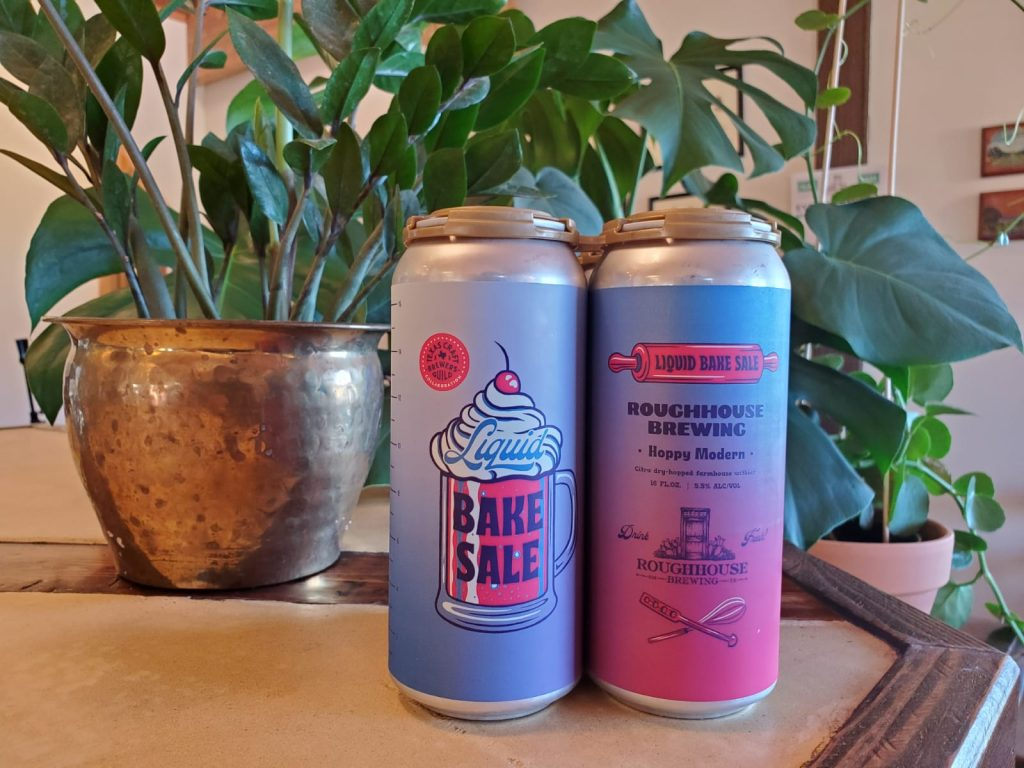 Roughhouse Brewing – Hoppy Modern Dry-Hopped Farmhouse Witbier