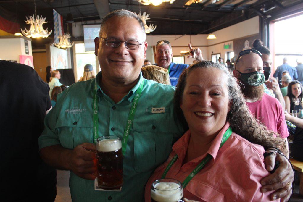 David & Clare Hulama of Bluebonnet Brewery