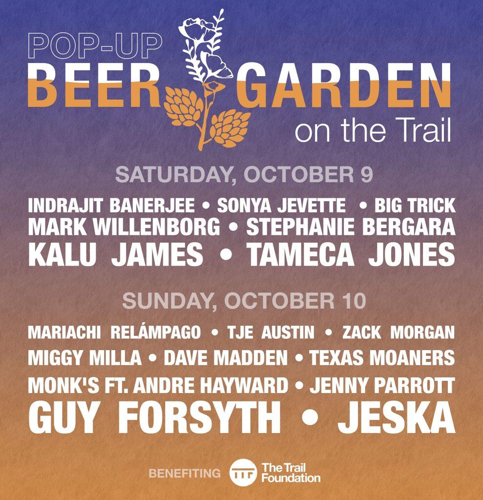 Trail Foundation Pop Up Beer Garden